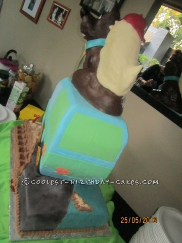 Coolest Spooky Scooby Doo Birthday Cake