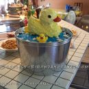 Squeaky Clean Shower Ducky Cake