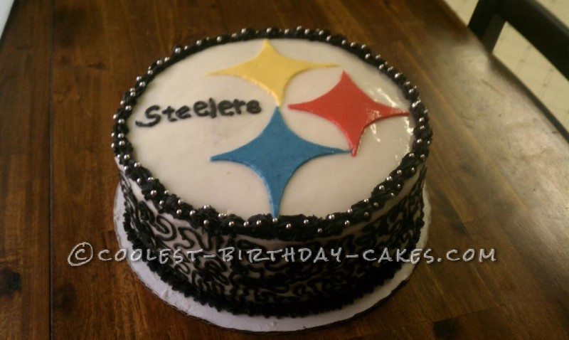 Steelers Fan Birthday Cake