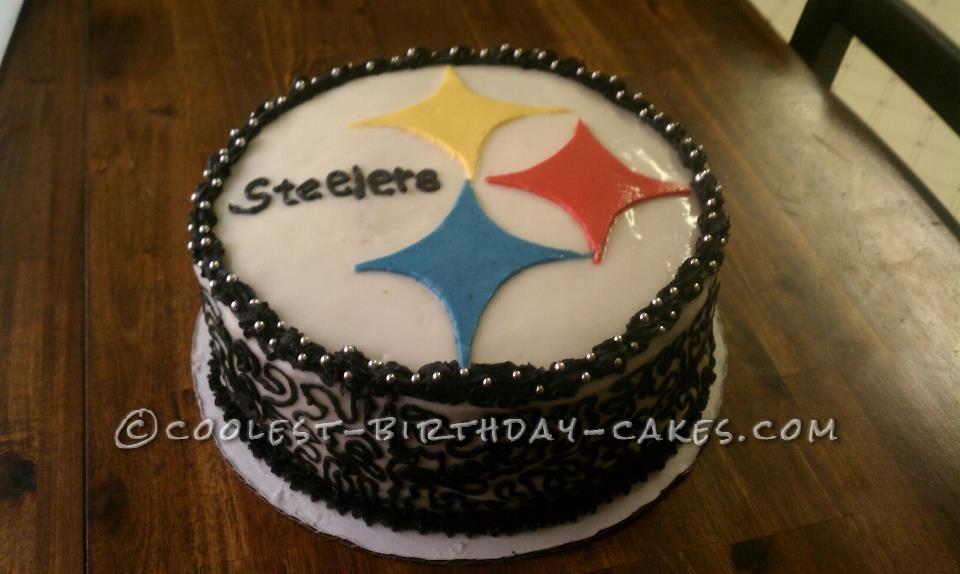 Steelers Fan Birthday Cake