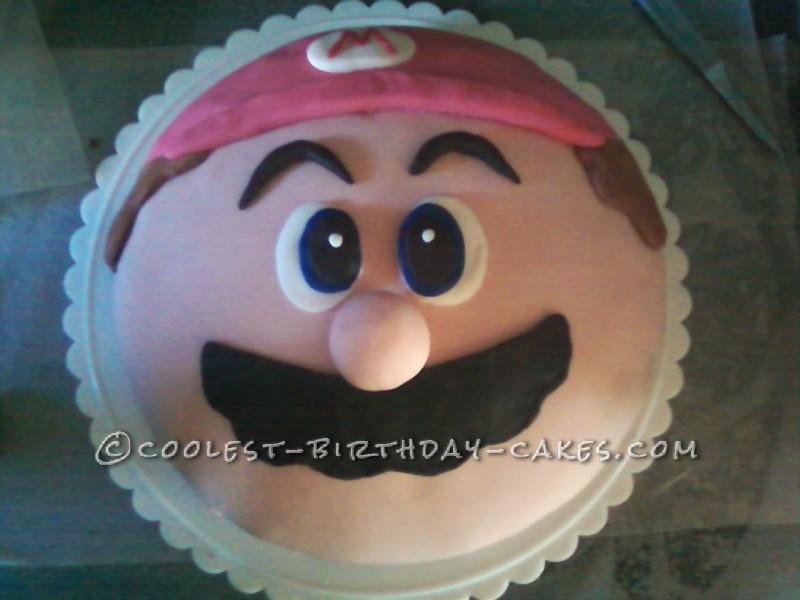 Super Easy Super Mario Cake for a Super Mario Fan