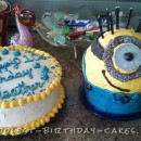 Cool Super Fun Minion Cake