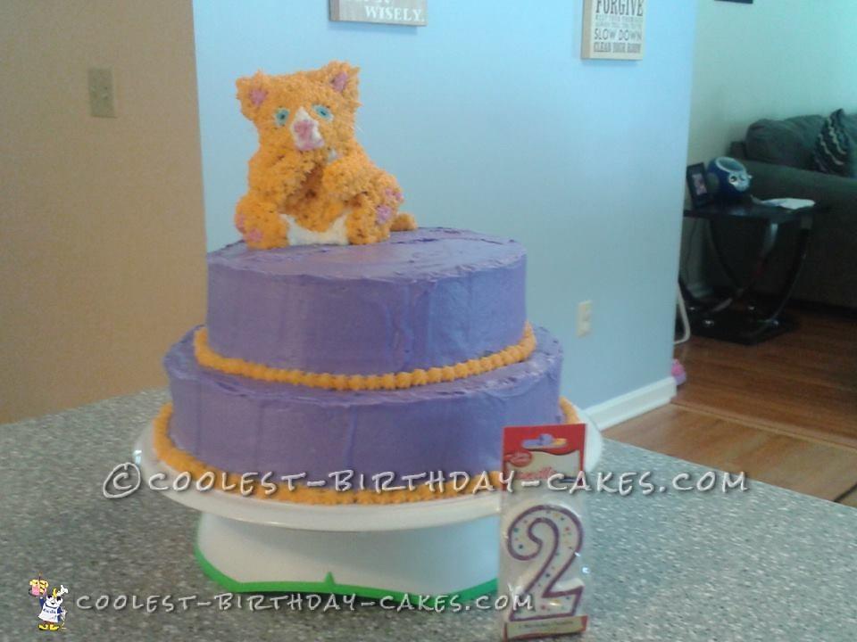Talking Ginger Cake for 2 Year Old Girl