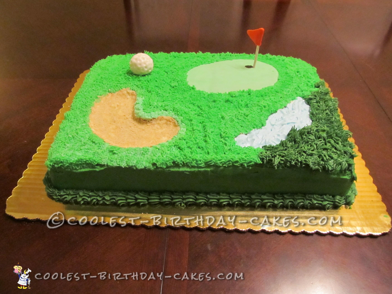 Tee Time Golf Cake