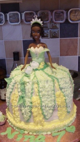 Coolest Disney Princess Tiana Cake