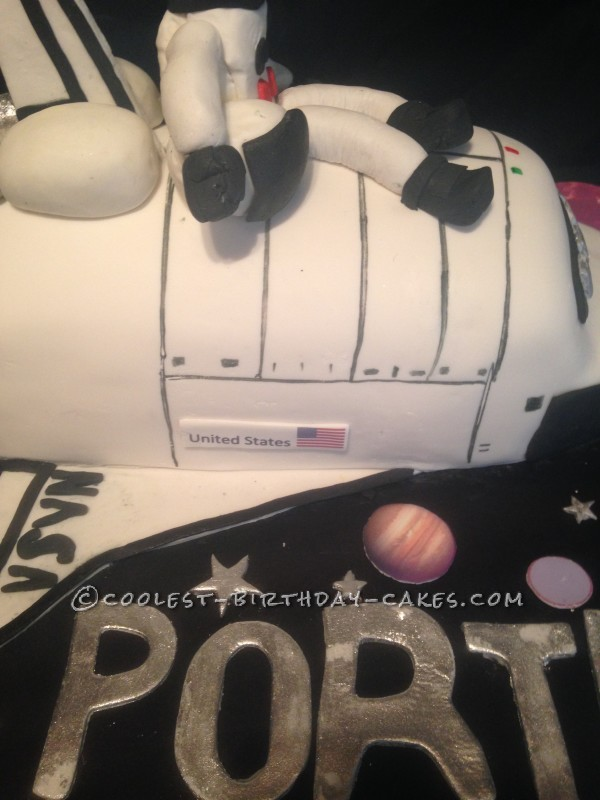 The Sky's the Limit Shuttle Cake