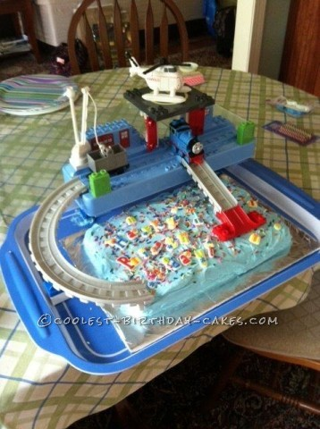 Thomas the Tank and Duplo Interactive Birthday Cake