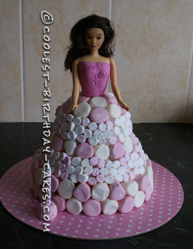 Time Warp 1st Birthday Doll Cake