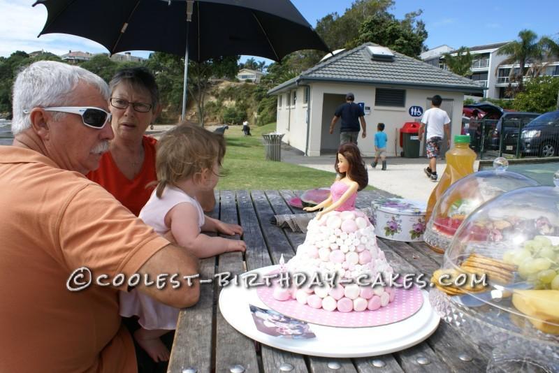 Time Warp 1st Birthday Doll Cake