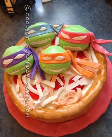 Stupendous 71 Coolest Teenage Mutant Ninja Turtle Cake Ideas Personalised Birthday Cards Cominlily Jamesorg