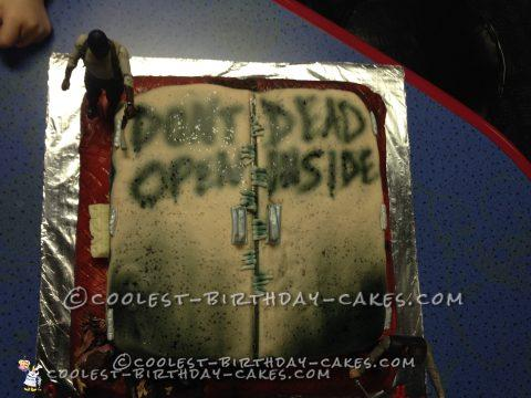 Unique Walking Dead Cake for 8 Year Old Boy