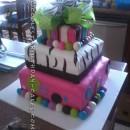 Wacky Last Minute Birthday Cake