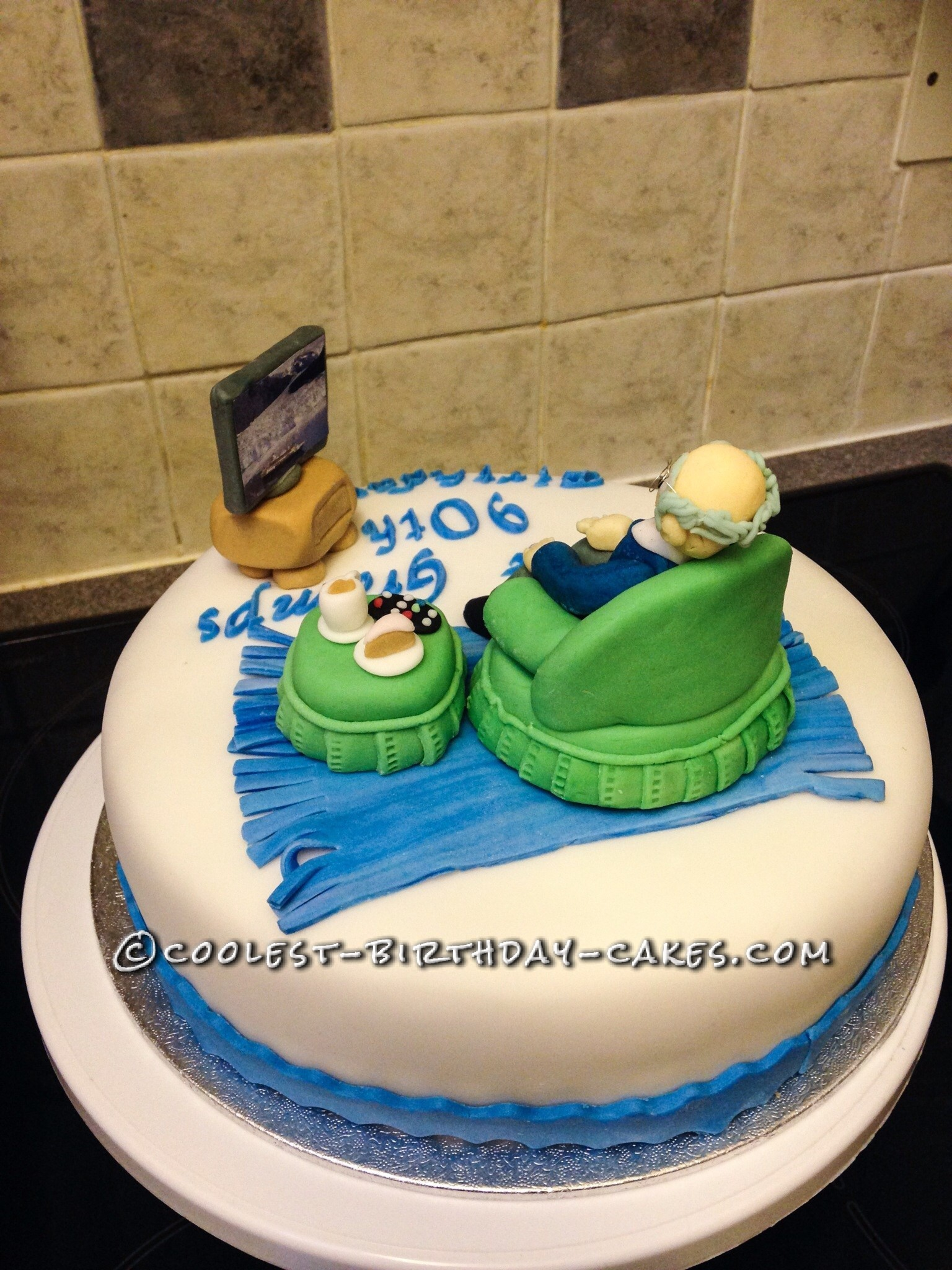 Awesome 90th Birthday Cake