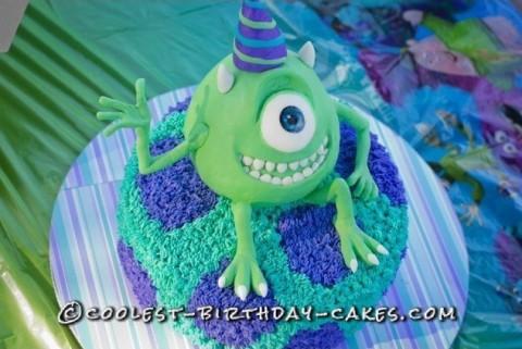 Amazing Monsters Inc. Birthday Cake
