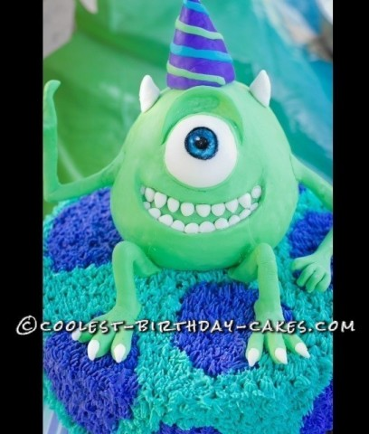 Amazing Monsters Inc. Birthday Cake
