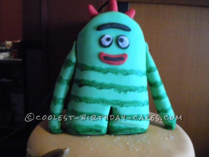 Awesome Yo-Gabba-Gabba CAKE