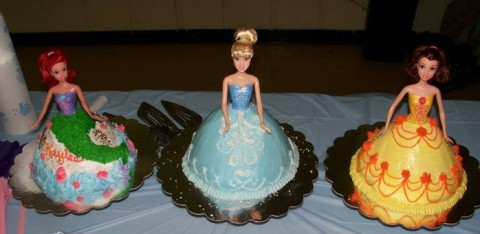 Best Barbie Fan Princess Party Cakes