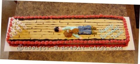 Bowling Madness Cake
