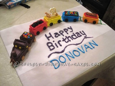 Terrific 20 Coolest Train Cake Ideas To Inspire Your Birthday Cake Decorating Personalised Birthday Cards Arneslily Jamesorg