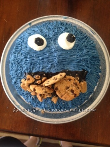 Coolest Cookie Monster Cake