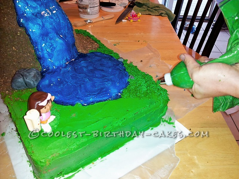 Coolest Diego and Dora Birthday Cake for 4 Year Old Twins