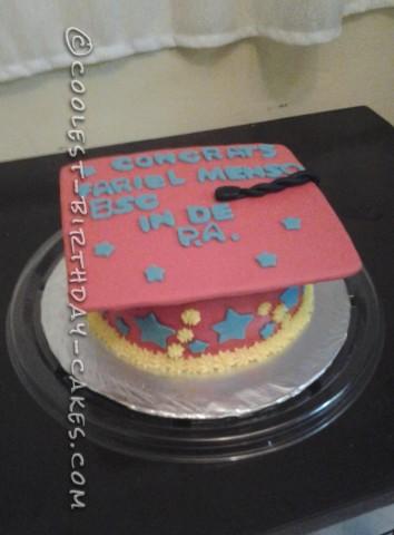 Cool Graduation Cake