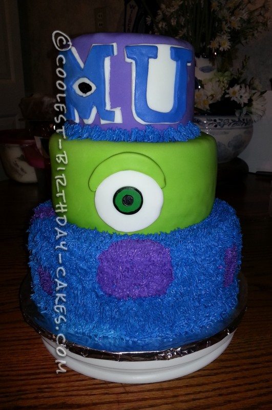 Coolest Monster University Cake