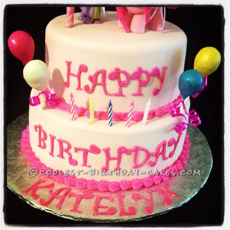 Coolest My Little Pony Pinkie Pie Cake