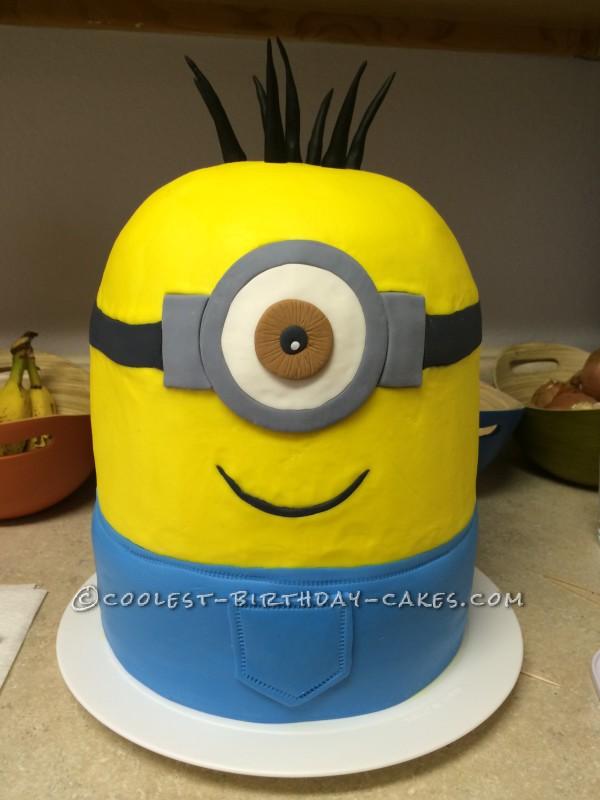 Coolest One Eyed Minion Cake