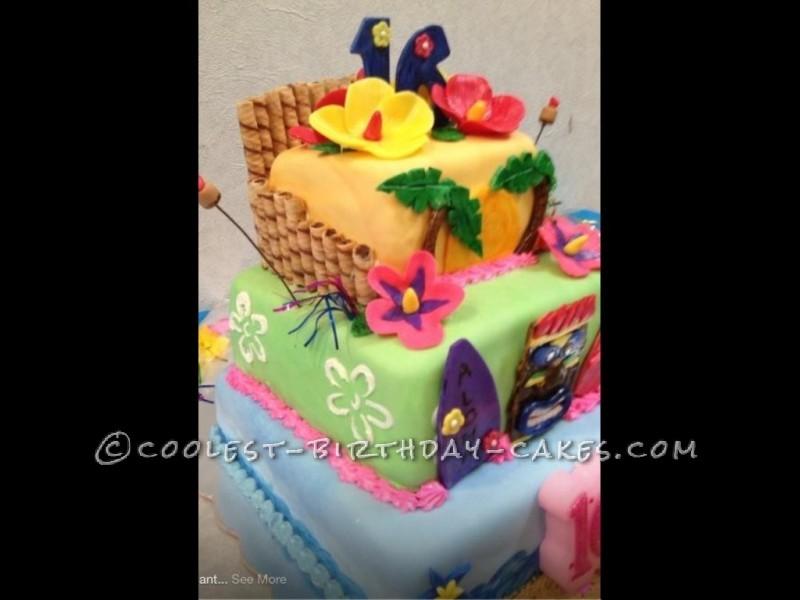 Hawaiian Sweet 16 Cakes Ideas 39913 Home Other Luau Luau S