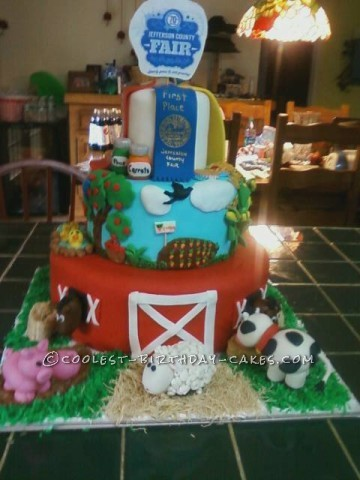 Cool County Fair Cake