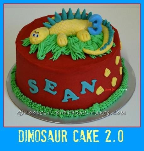 Cool Dinosaur Cake