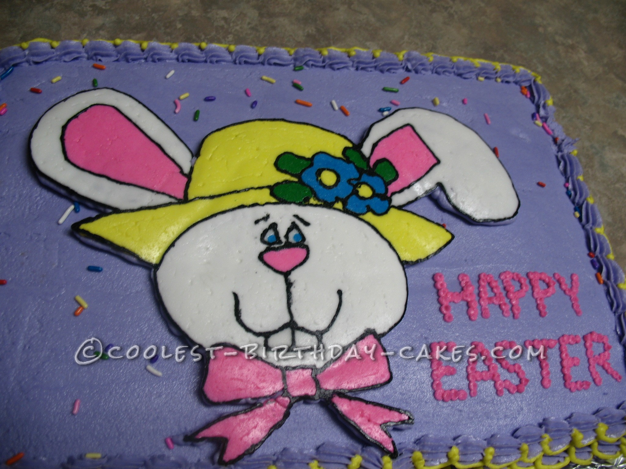 Cool Easter Bunny Cake