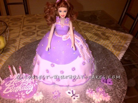 Coolest Disney Princess Cake