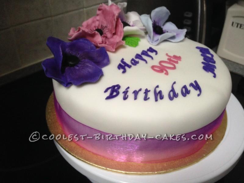 Coolest Flower Birthday Cake