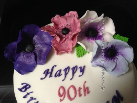 Coolest Flower Birthday Cake
