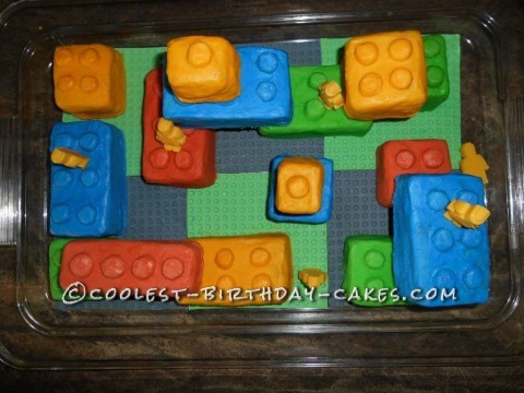 Coolest Lego Birthday Cake