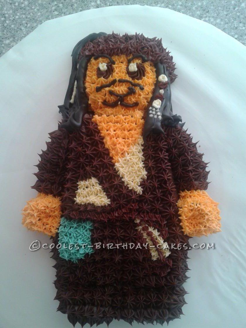 Lego Minifigure Pirates of the Caribbean Cake