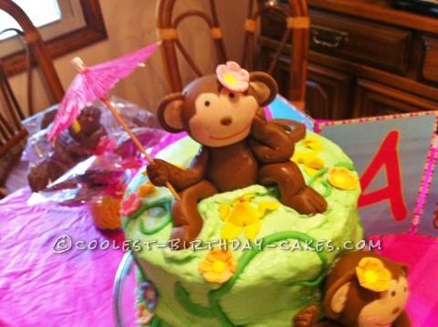 Birthday Girl Monkey