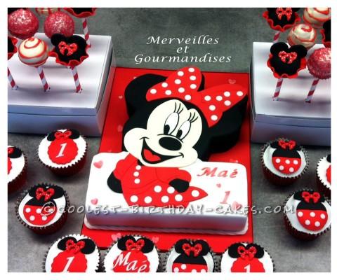 Coolest Minnie Birthday Cake