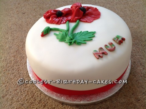 Flower Cake for Mother's Day