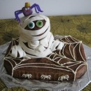 My Dearest Mummy Halloween Birthday Cake