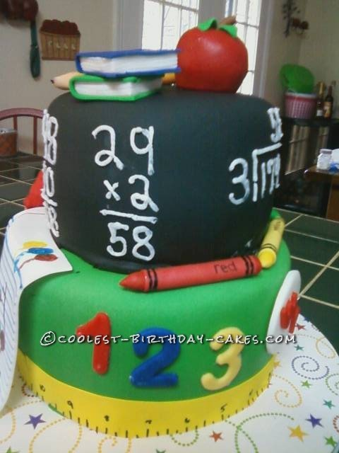 anniversaire Our-principals-58th-birthday-cake-67614