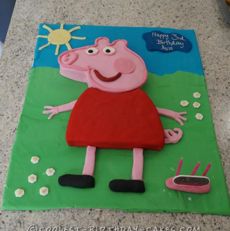 Coolest Peppa Pig Cake