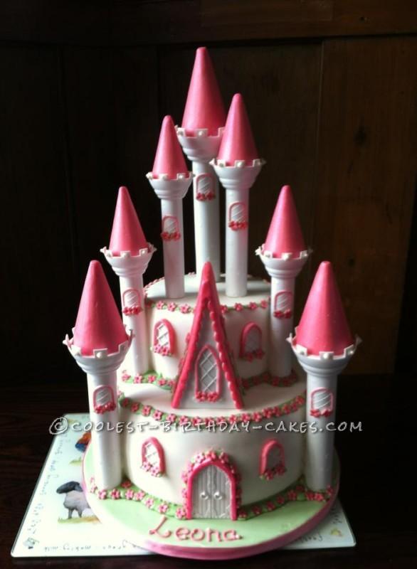 Cool Princess Castle Cake