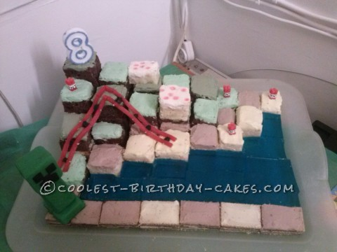 Simply Minecraft Cake and Party