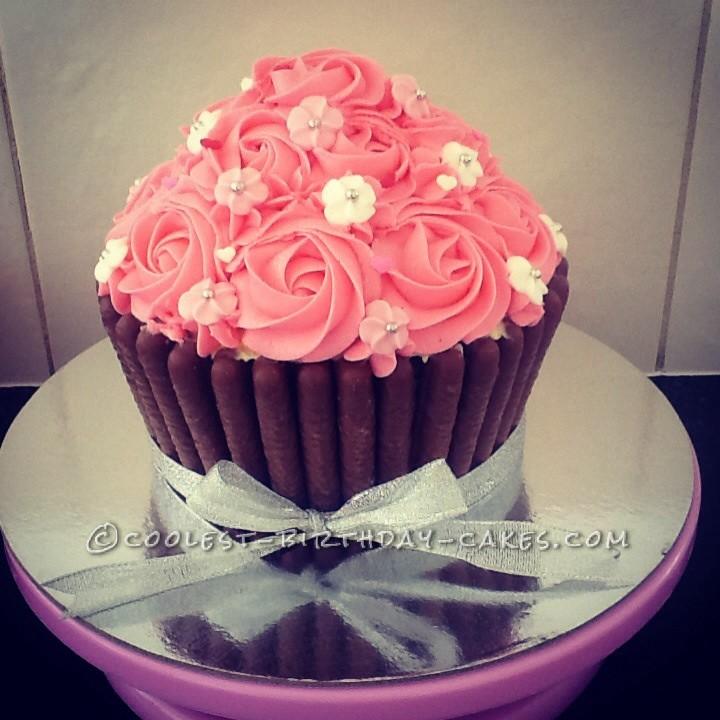 Stunning Giant Cupcake
