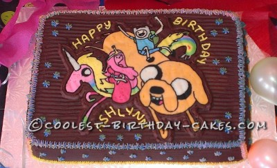 Remarkable Coolest Homemade Adventure Time Cakes Funny Birthday Cards Online Fluifree Goldxyz