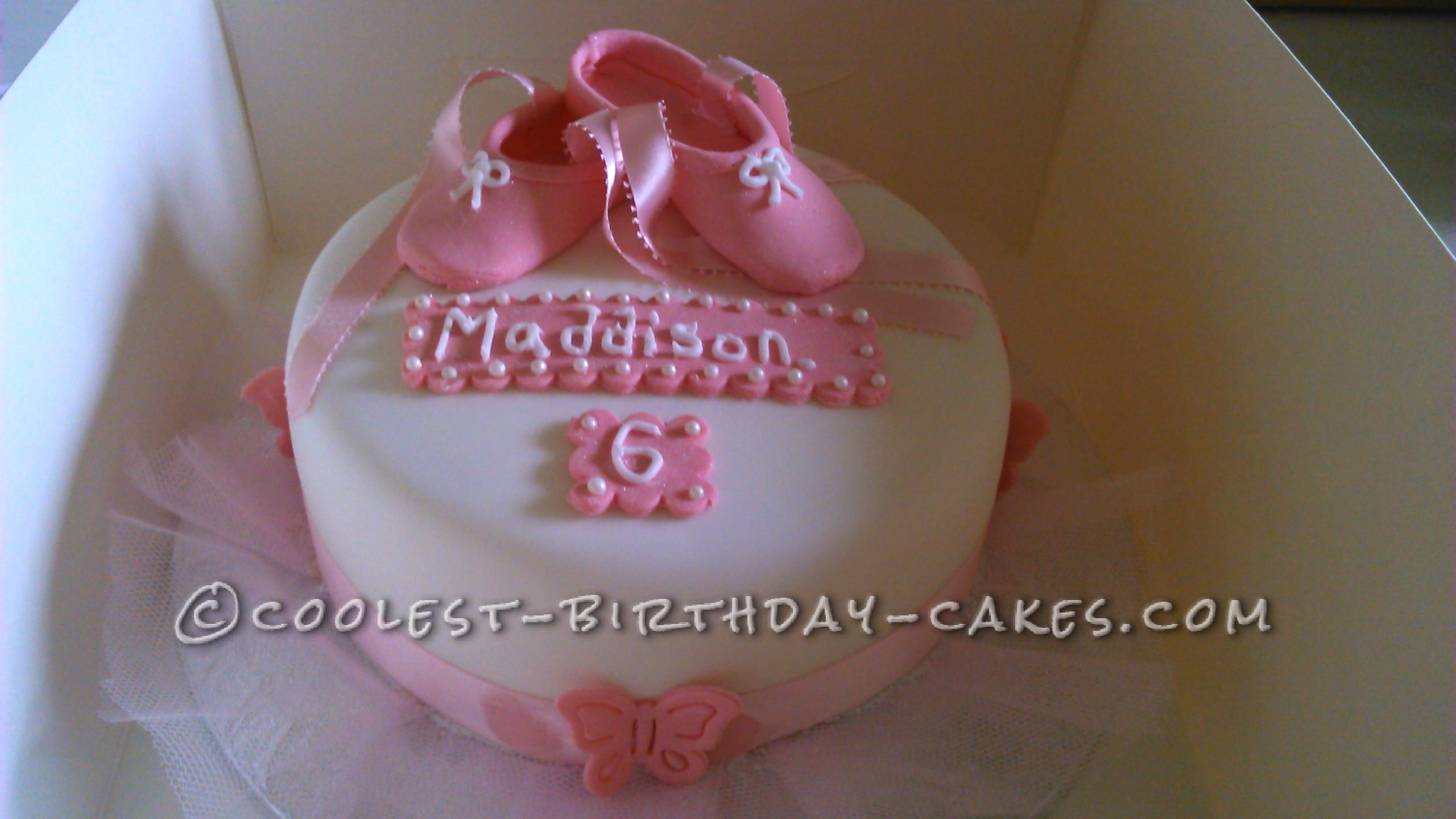 Birthday Cake for a Ballet Dancer
