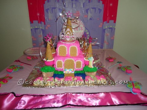 Castle Cake for a Tiny Princess